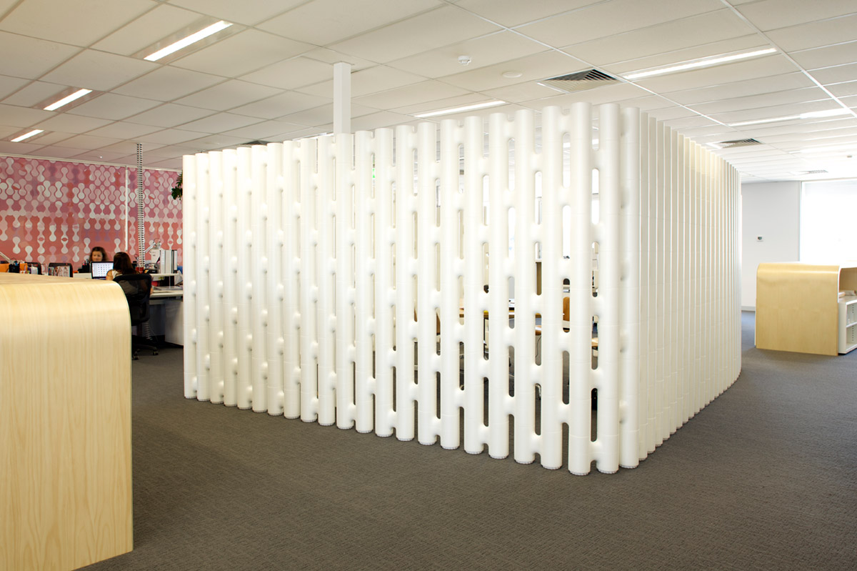 free standing office partition open plan systems Movisi images of offices Greygroup