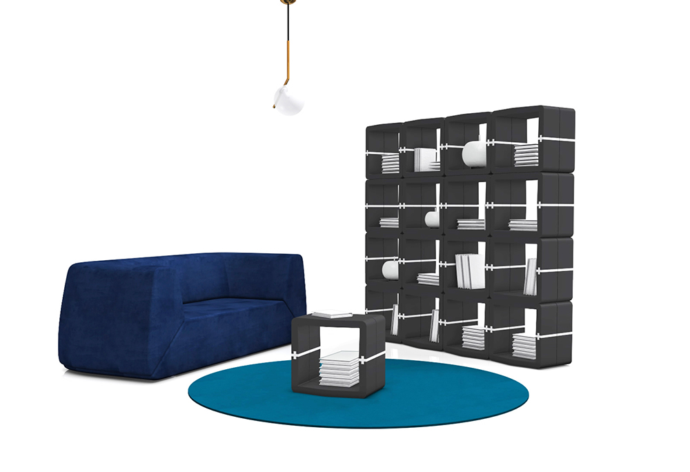 U Cube Movisi bookshelves living room