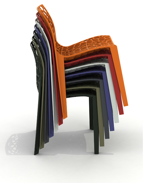 Reef Chair stackable chair Movisi