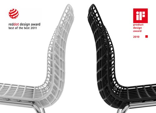 MOVISI – Modular Lightweight Furniture! MOIRE CHAIR